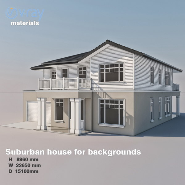 house environment tile 3D