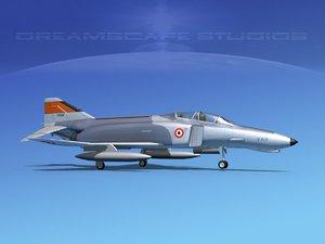 3D mcdonnell douglas f-4 phantom