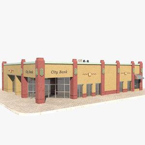 bank building model