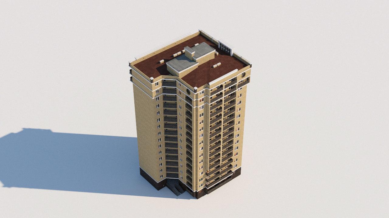 building architectural 3D model