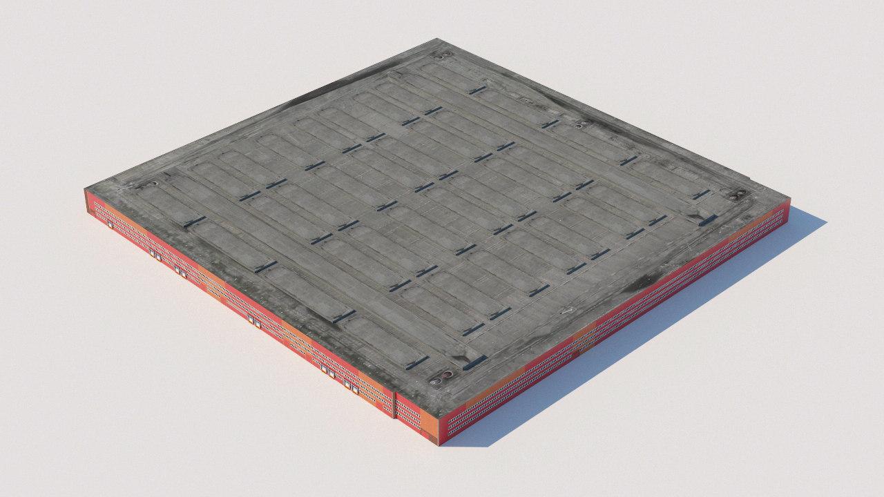 3D model warehouse building house