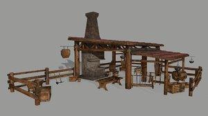 anvil blacksmith 3D model