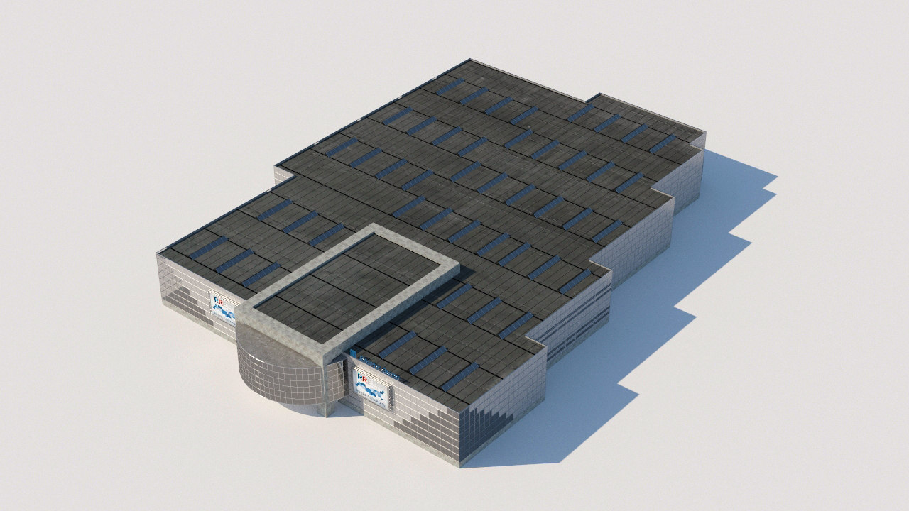 rocus city architectural 3D