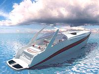 boat motorboat model