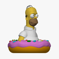 Homer Simpson 3D printable