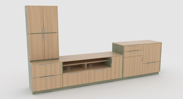 3D model tv stand 64