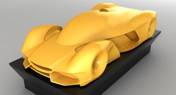 supercar car model