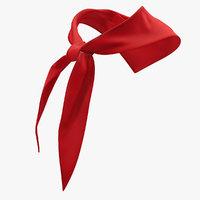 Silk Red Pioneer Tie