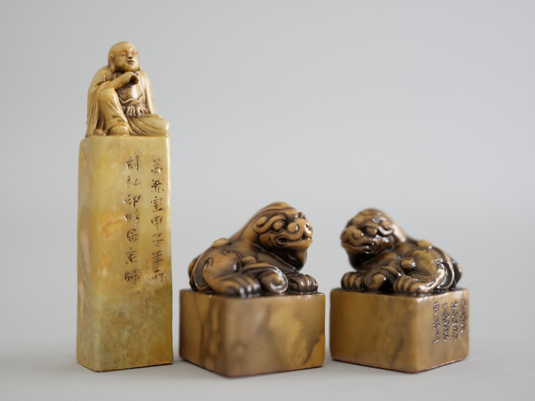 chinese seal 3D model