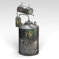 3D brewing kettle model