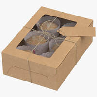 3D muffin packaging