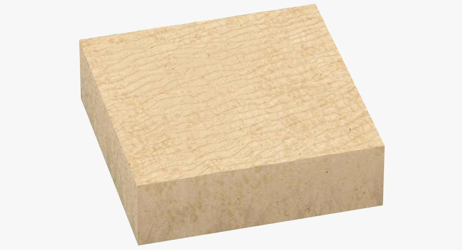 3D sand cross section 04 model