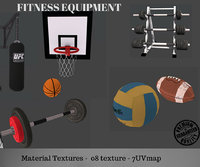 3D equipment fitness equi