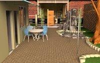 house entrance 3D