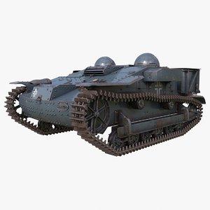 renault ue 3D model