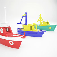 3D toy boats model