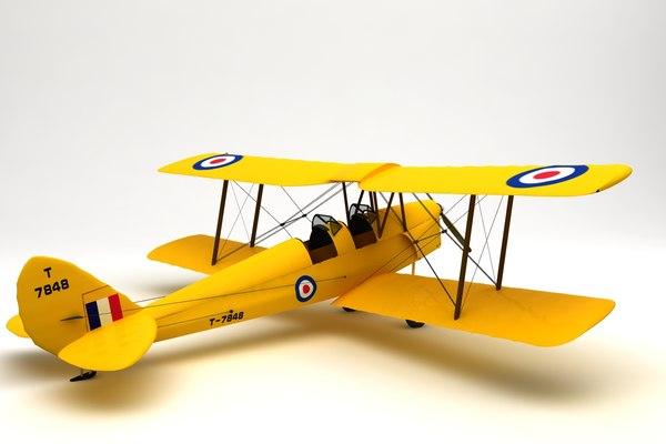 tiger moth model