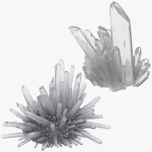 3D natural crystal groups