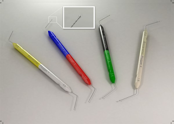 3D dental set model
