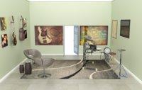 music room studio 3D
