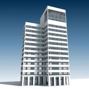 building 13 3D model