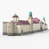 criminal court berlin 3D model