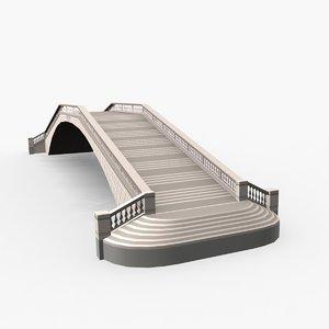 3D bridge venice barefoot