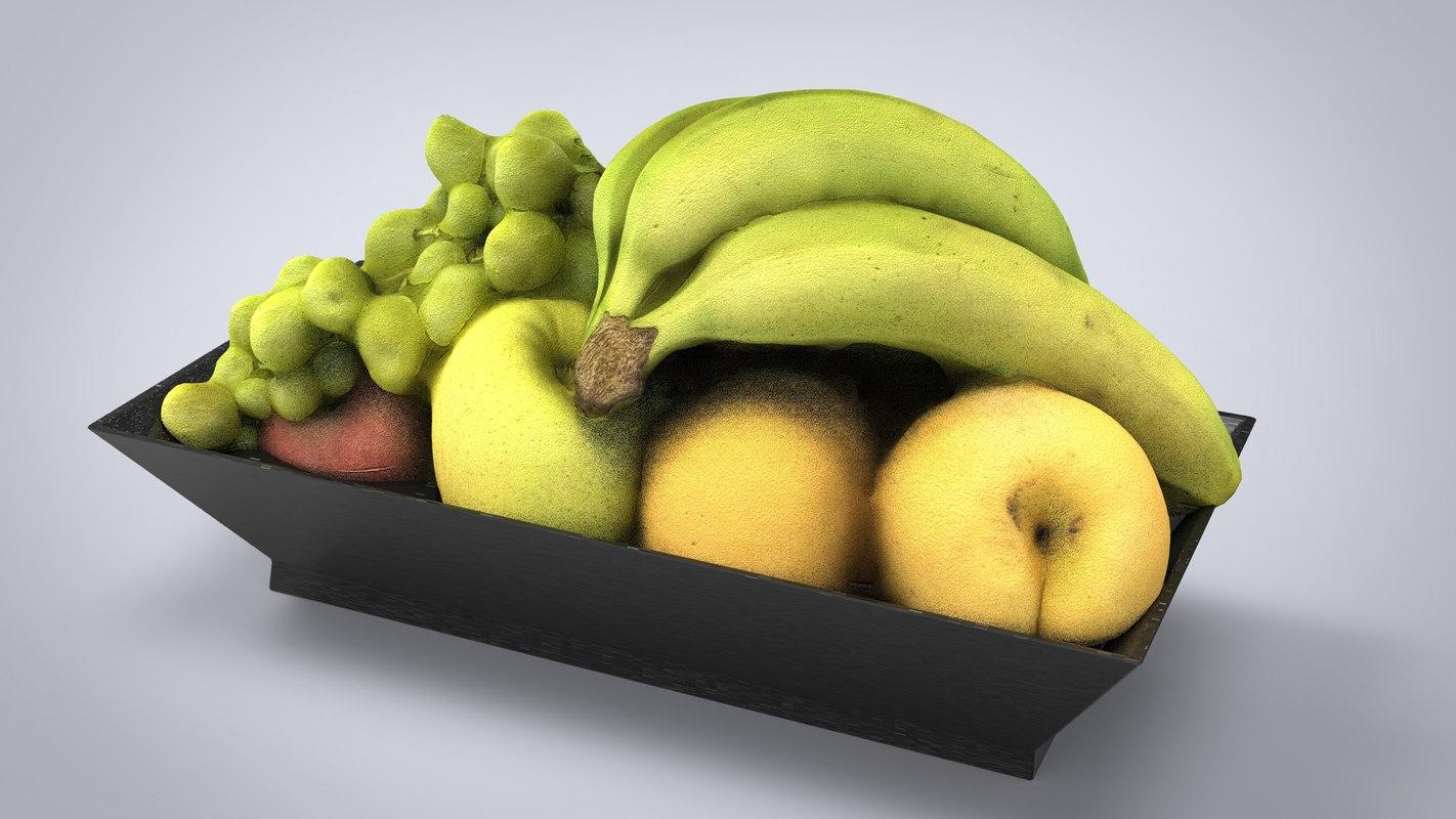 fruit plate model