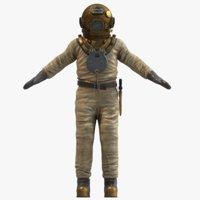 Old Diver Suit