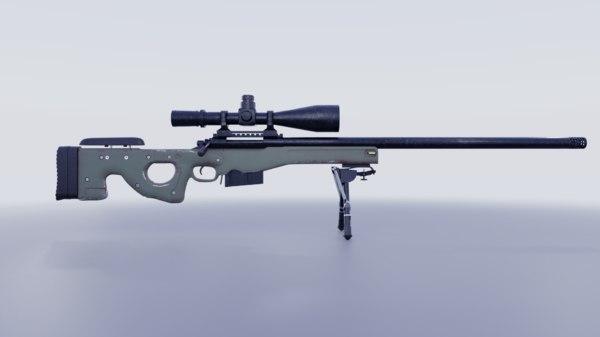 sniper blender model