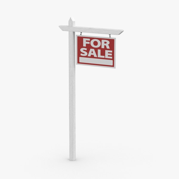3D home-for-sale-sign-01---for-sale