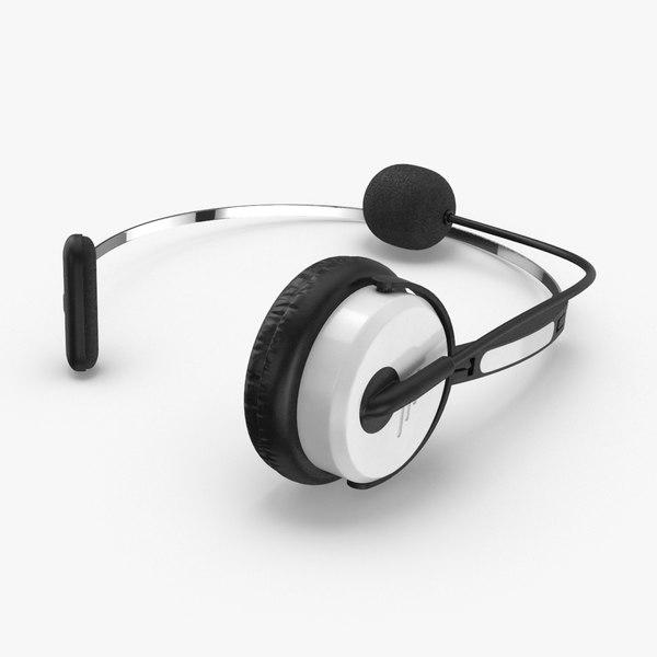 f38f28bce48 Headphones 3D Models for Download | TurboSquid