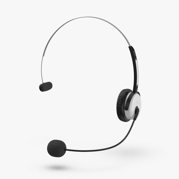 headset-mic-02---worn 3D model