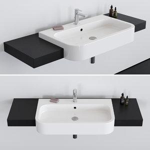 3D 80d washbasin