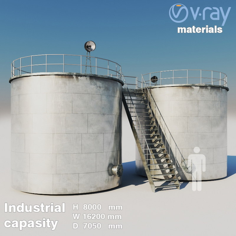 industrial capacity 3 3D model