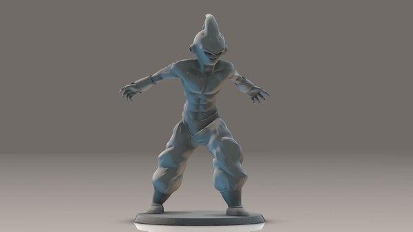 3D model dragon ball z -