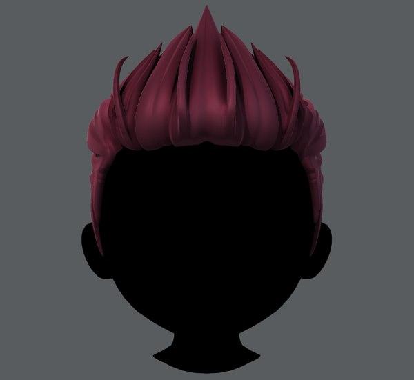 3D hair style boy v28