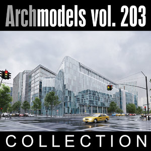3D model archmodels vol 203