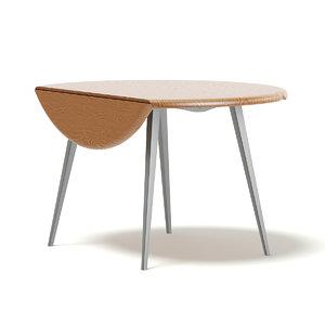 3D table folding