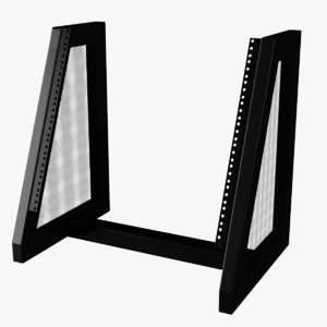 3D slant 19-inch stand mounting