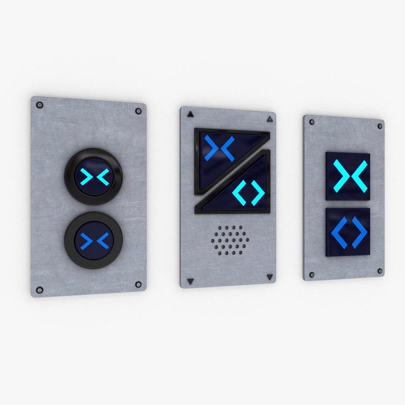 door buttons model
