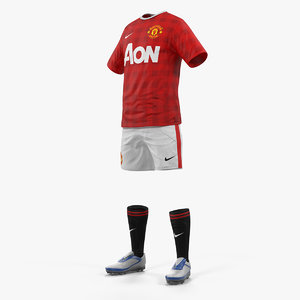 3D soccer uniform united