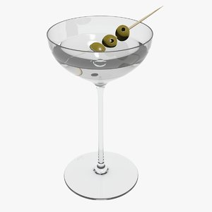 glass riedel superleggero coupe 3D