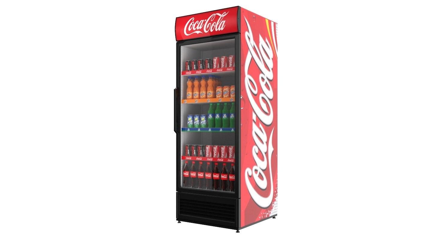 Coca Cola Fridge >> Single And Double Door Coca Cola Fridges
