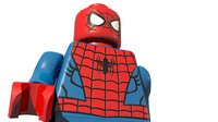 lego classic spiderman 3D model