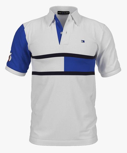 3D polo shirt bonny dillinger model