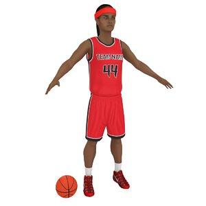 female basketball player ball model