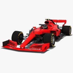 3D model formula 1 2019 concept car