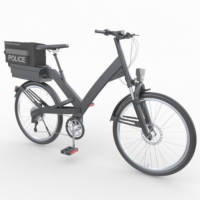 police bike model