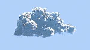 3D realistic arnold cloud